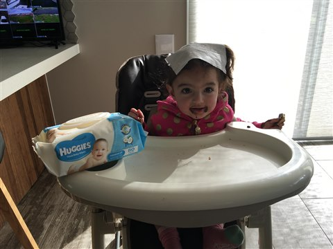 Huggies Coconut Baby Wipes